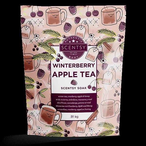 Scentsy badzout winterberry apple tea