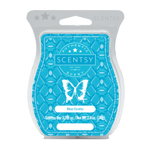 Blue grotto Scentsy waxbar