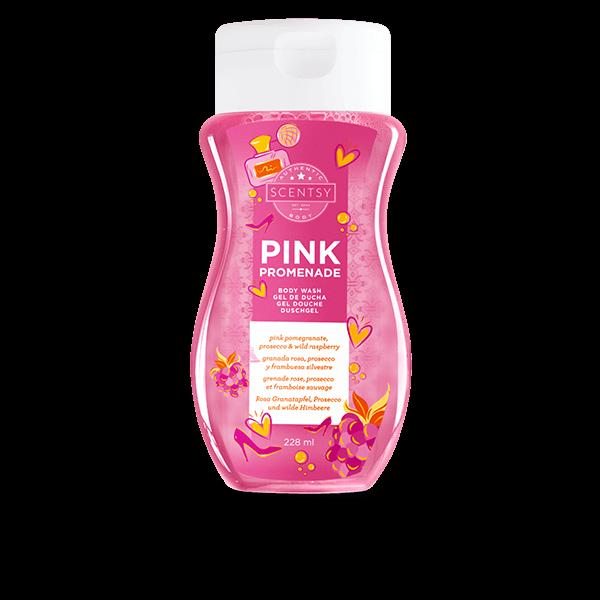 Scentsy bodywash pink promenade