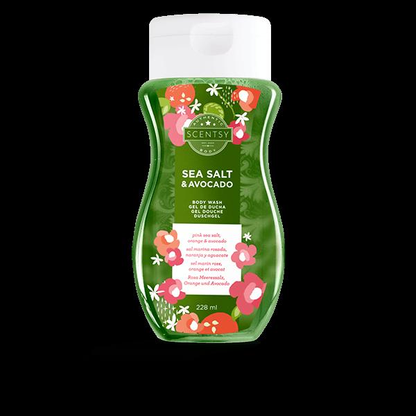 Scentsy bodywash sea salt & avocado