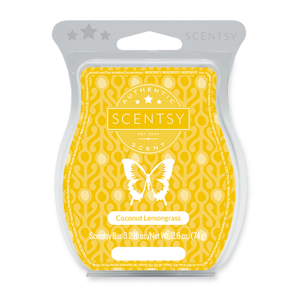 Coconut lemongrass Scentsy waxbar