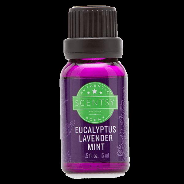 Scentsy natuurlijke oliemengsels – eucalyptus lavender mint
