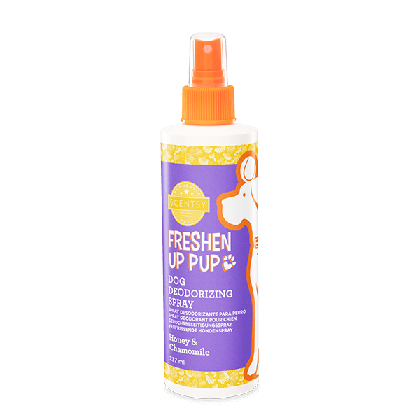 Freshen up pup honey & chamomile