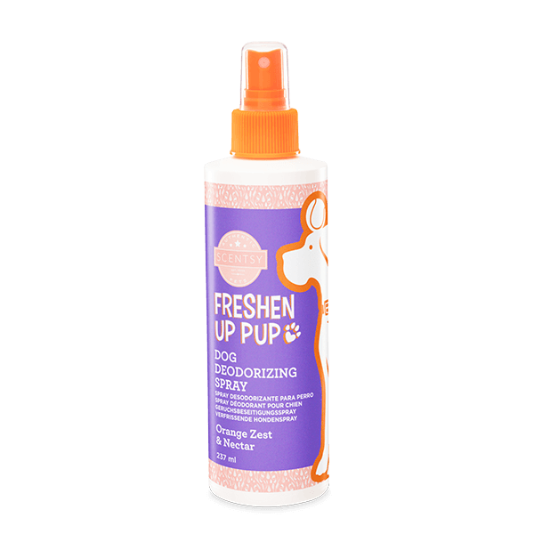 Freshen up pup orange zest & nectar