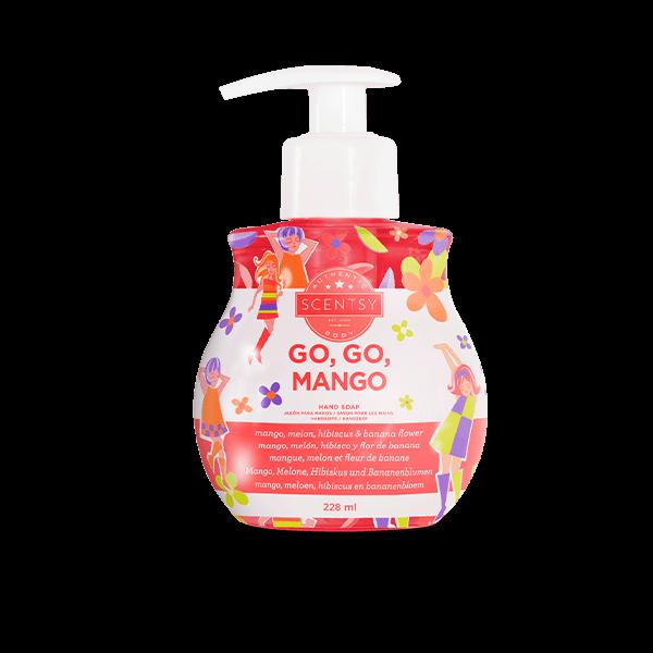 Scentsy handzeep go, go mango
