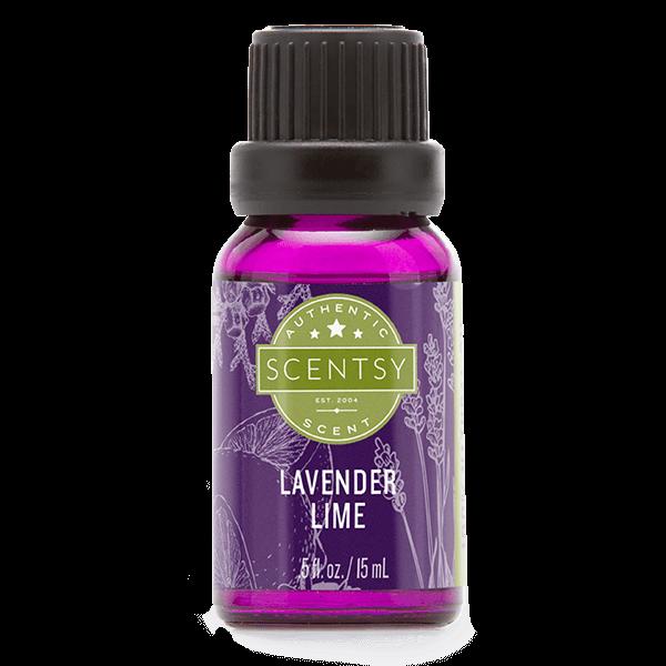 Scentsy natuurlijke oliemengsels – lavender lime