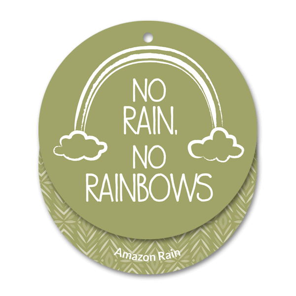 Amazon rain scent cirkel