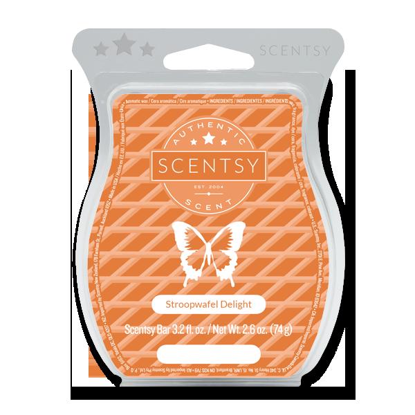 Stroopwafel delight Scentsy waxbar
