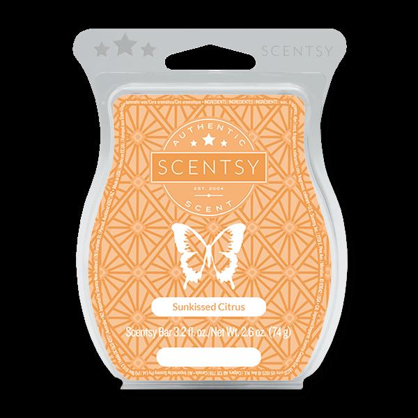 Sunkissed citrus Scentsy waxbar