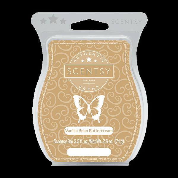 Vanilla bean buttercream Scentsy waxbar