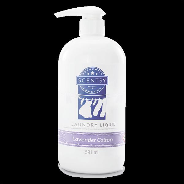 Vloeibaar wasmiddel lavender cotton