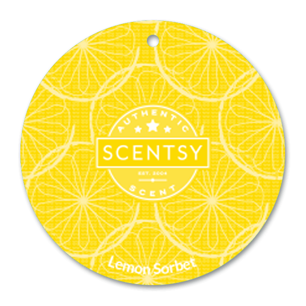 Lemon sorbet scent cirkel