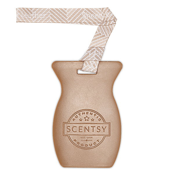 Sheer leather Scentsy car bar