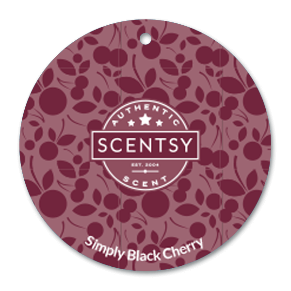 Simply black cherry scent cirkel