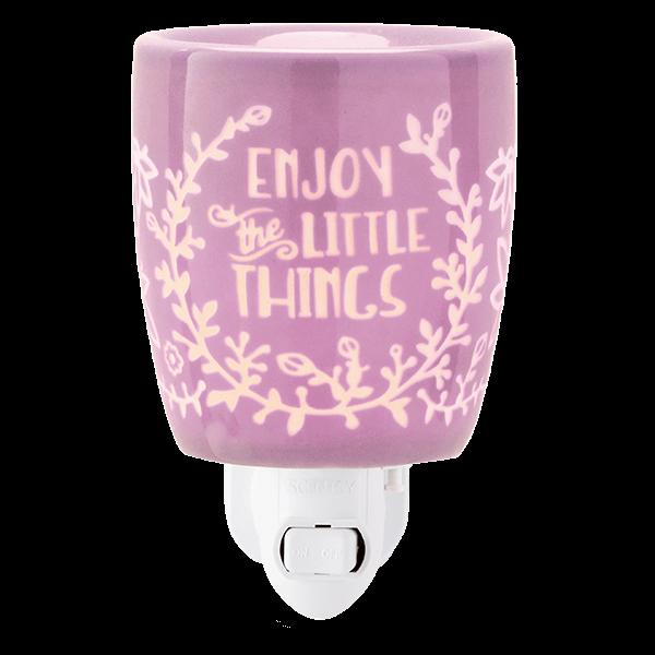 Enjoy the little things Scentsy mini warmer met wandstekker