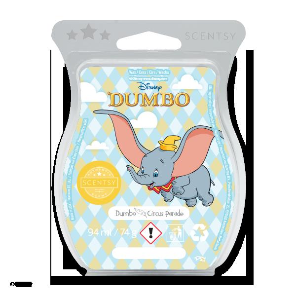 Dumbo circus parade Scentsy waxbar