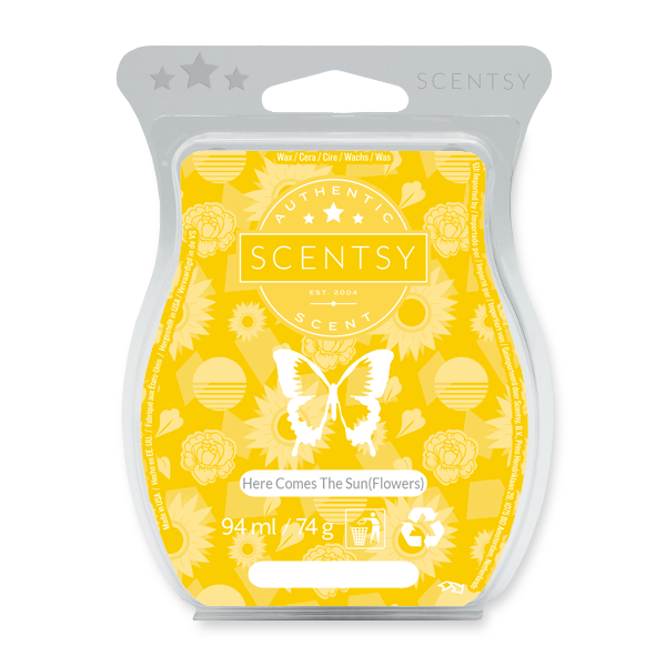 Here comes the sun(flowers) Scentsy waxbar