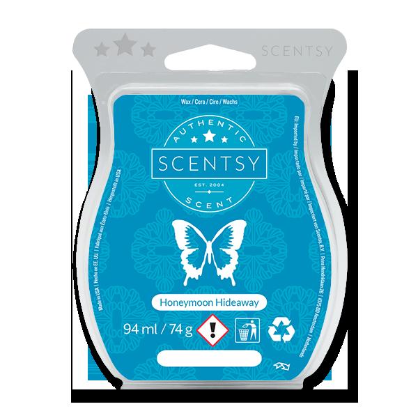 Honeymoon hideaway Scentsy waxbar
