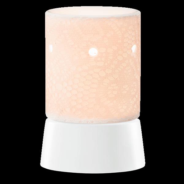 Lace Scentsy mini warmer met tafelvoet