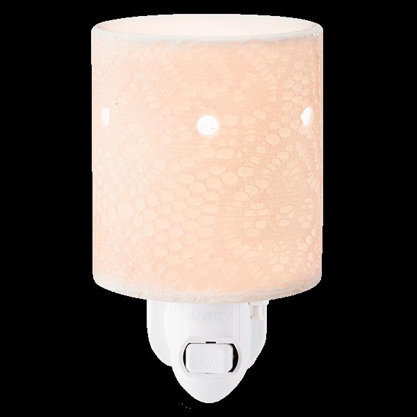 Lace Scentsy mini warmer met wandstekker