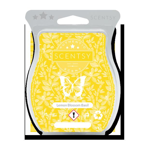 Lemon blossom basil Scentsy waxbar