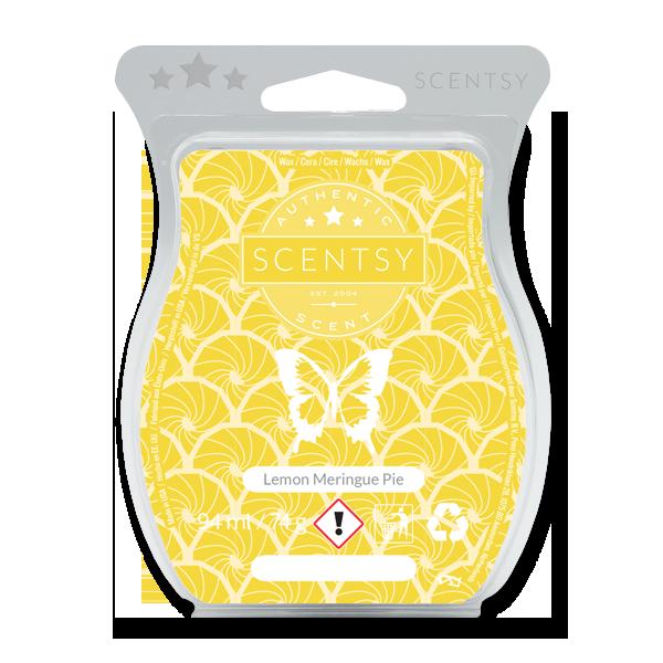 Lemon meringue pie Scentsy waxbar