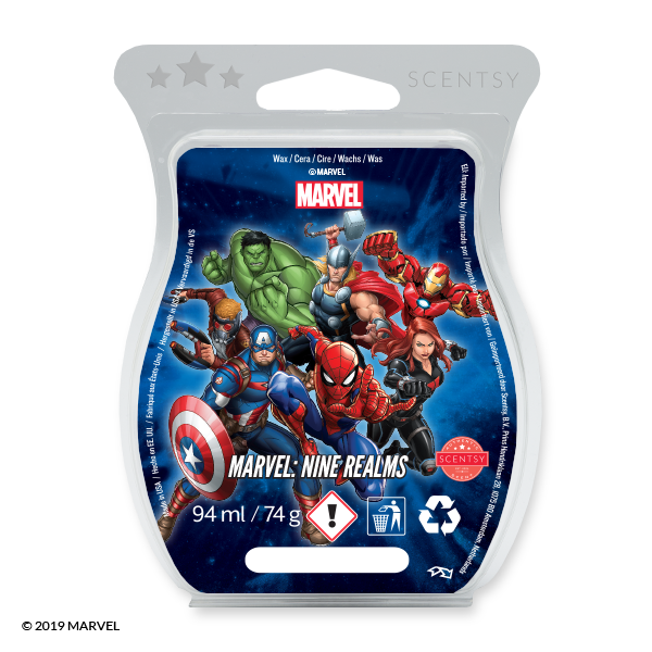 Marvel nine realms Scentsy waxbar