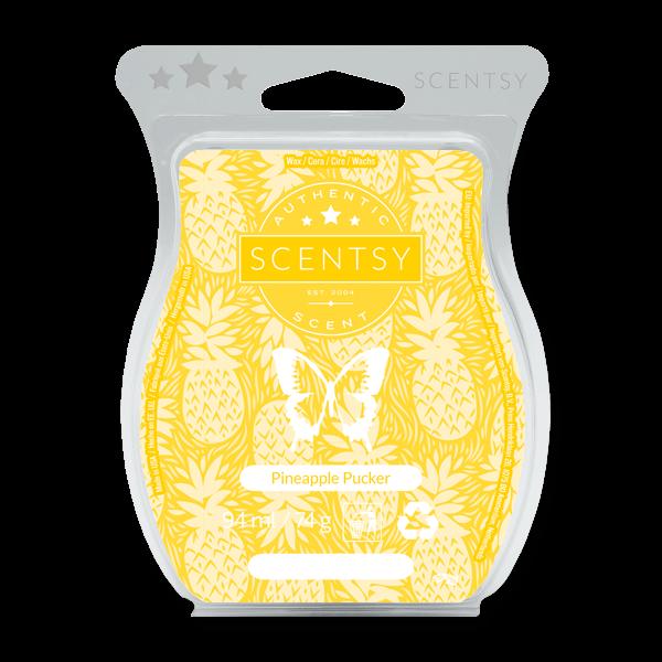 Pineapple pucker Scentsy waxbar