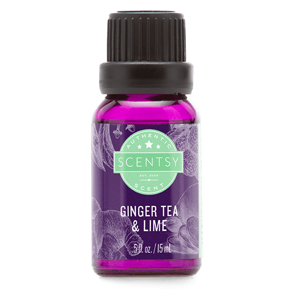 Scentsy olie – ginger tea and lime