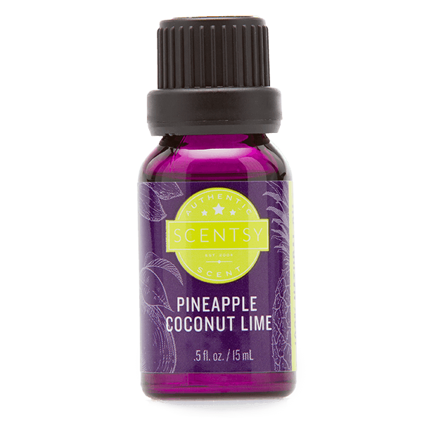 Scentsy olie – pineapple coconut lime