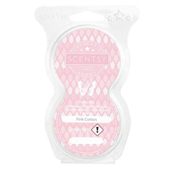 Twin pack Scentsy pods pink cotton