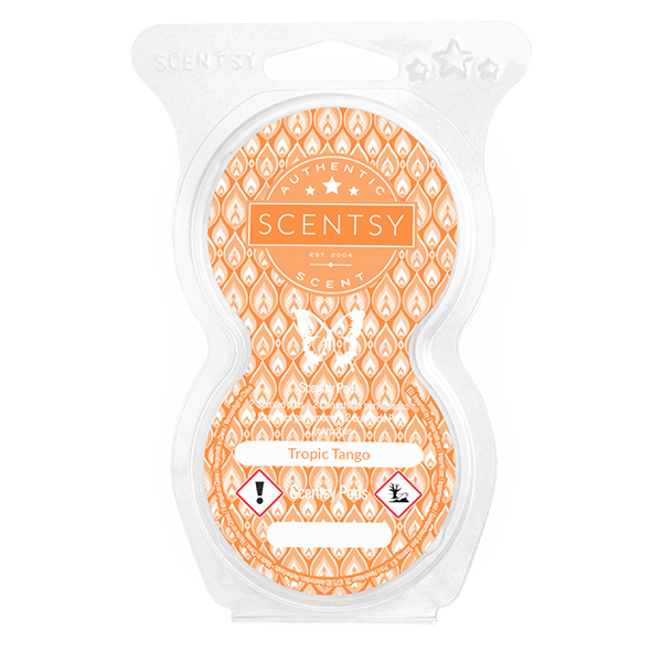 Twin pack Scentsy pods tropic tango