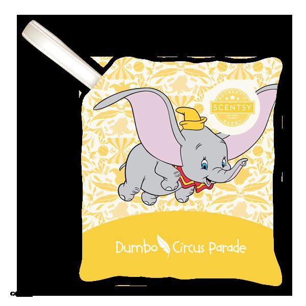 Dumbo circus parade scent pak