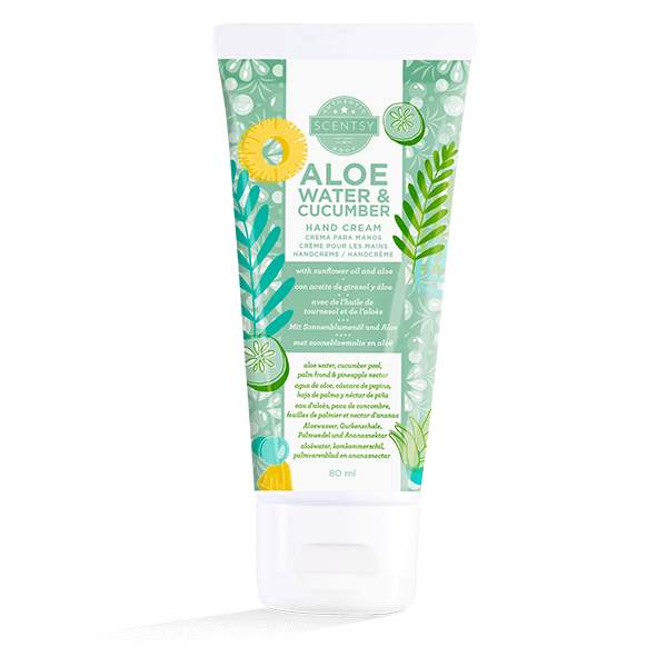 Scentsy handcreme aloë water & cucumber