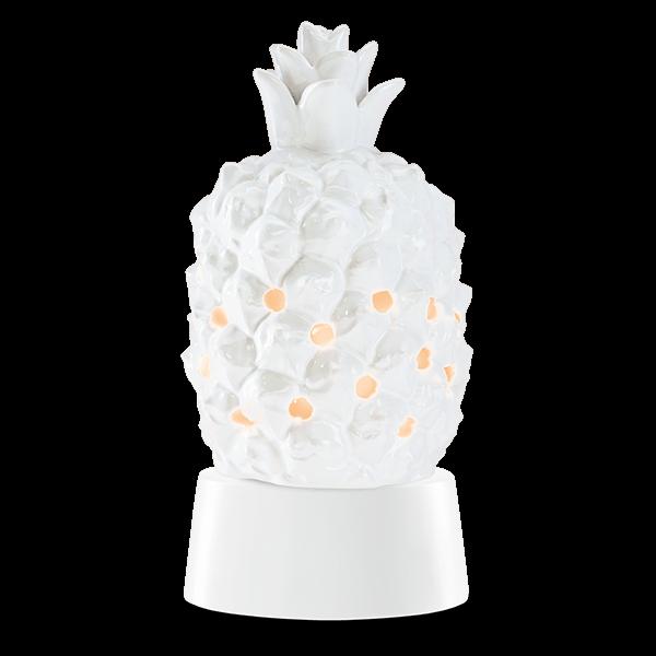 Queen pineapple Scentsy mini warmer met tafelstandaard