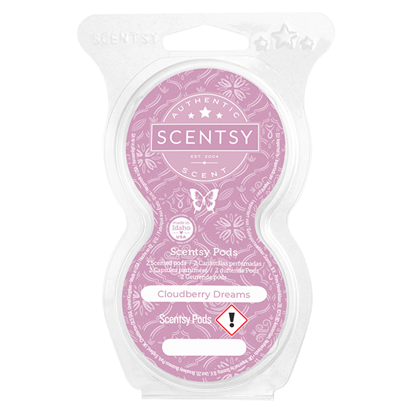 Twin pack Scentsy pods cloudberry dreams