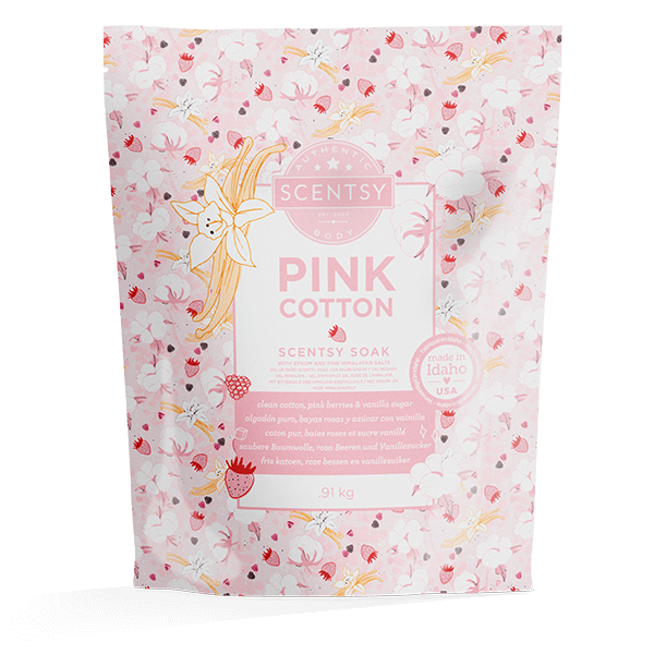 Scentsy badzout pink cotton