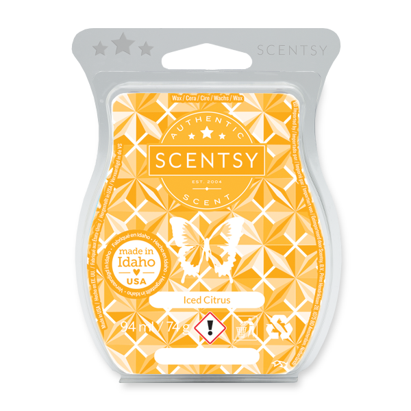Iced citrus Scentsy waxbar