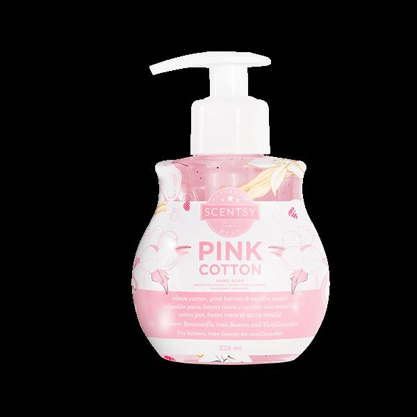 Scentsy handzeep pink cotton
