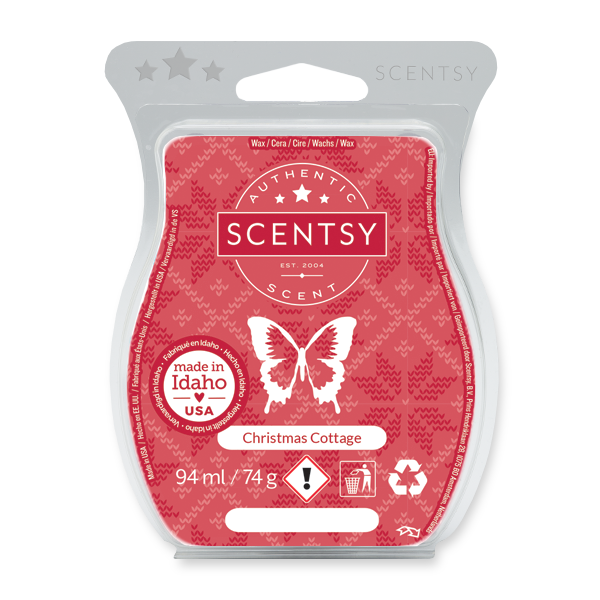 Christmas cottage Scentsy waxbar