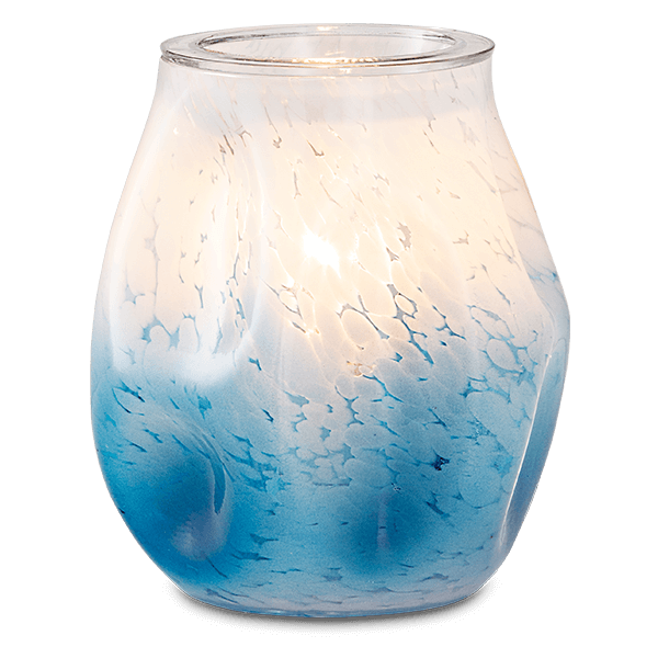 Bubbled – blue ombre Scentsy warmer