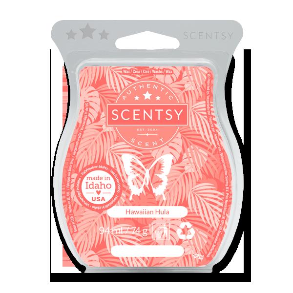 Hawaiian hula Scentsy waxbar