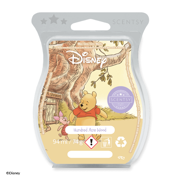Hundred acre wood Scentsy waxbar