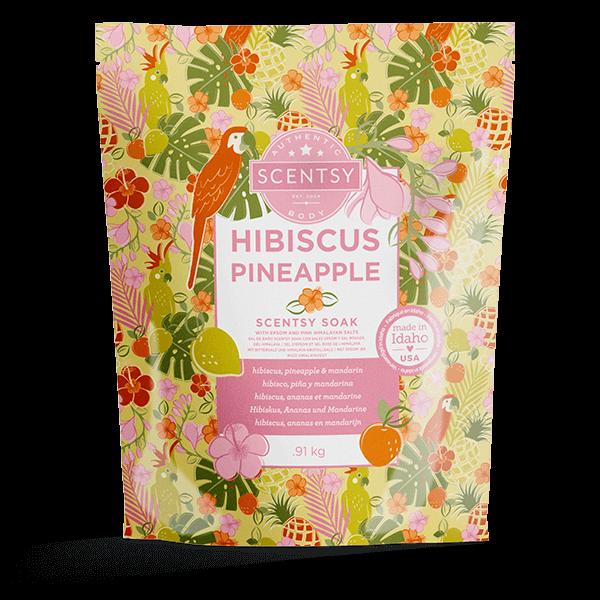 Scentsy badzout hibiscus pineapple