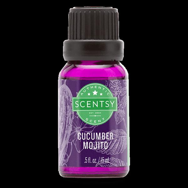 Scentsy olie – cucumber mojito