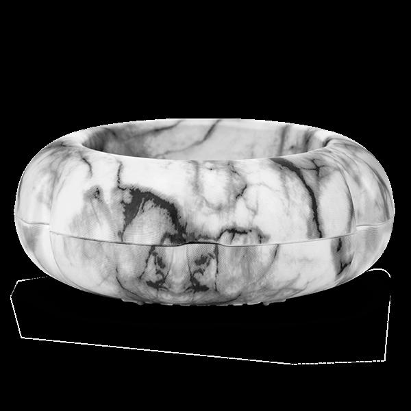 Scentsy miniventilatordiffuser marble white