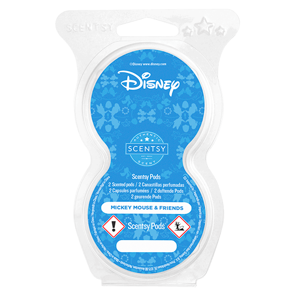 Twin pack Scentsy pods Mickey Mouse & friends
